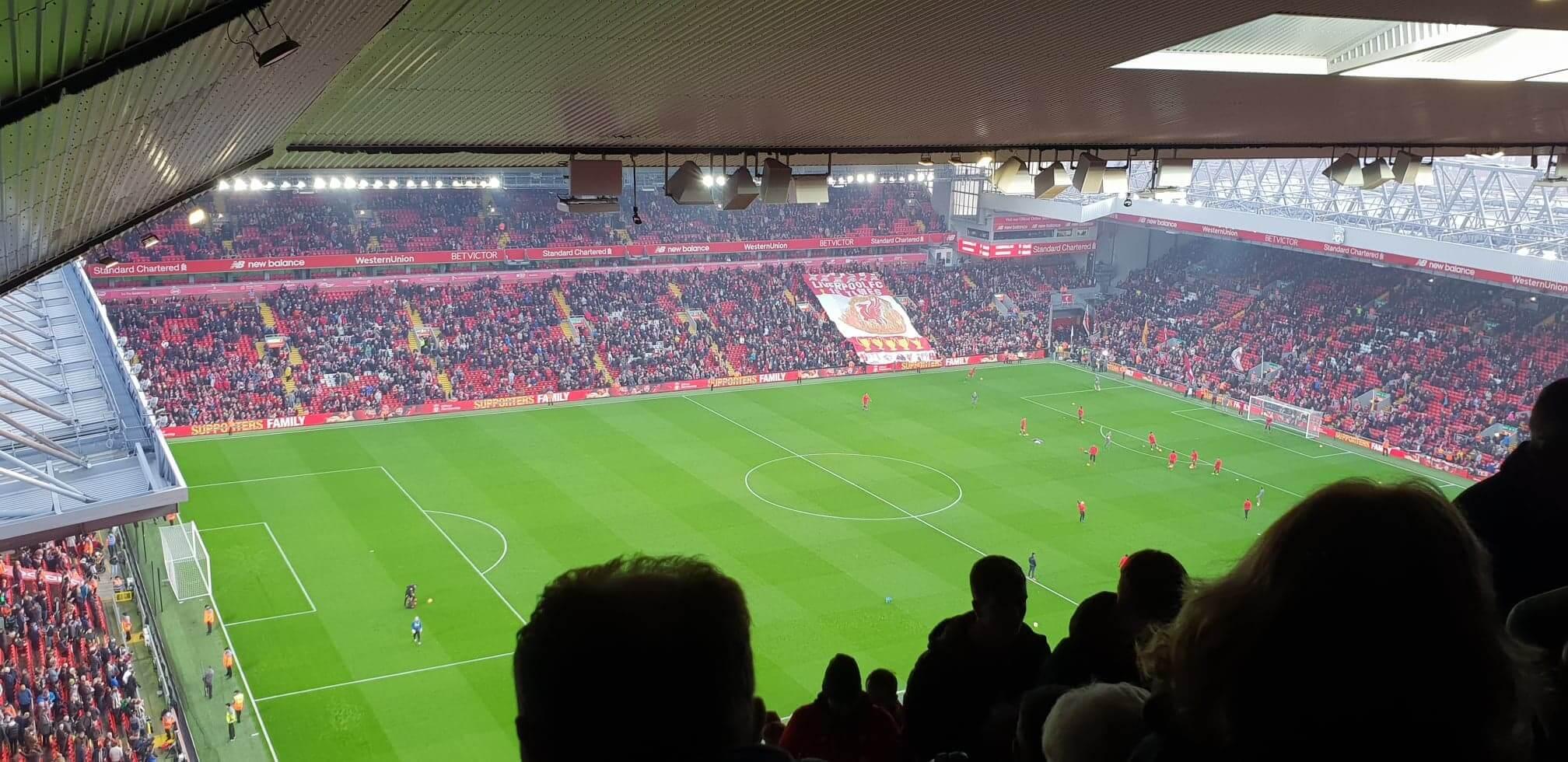 zápasová atmosféra Fc Liverpool