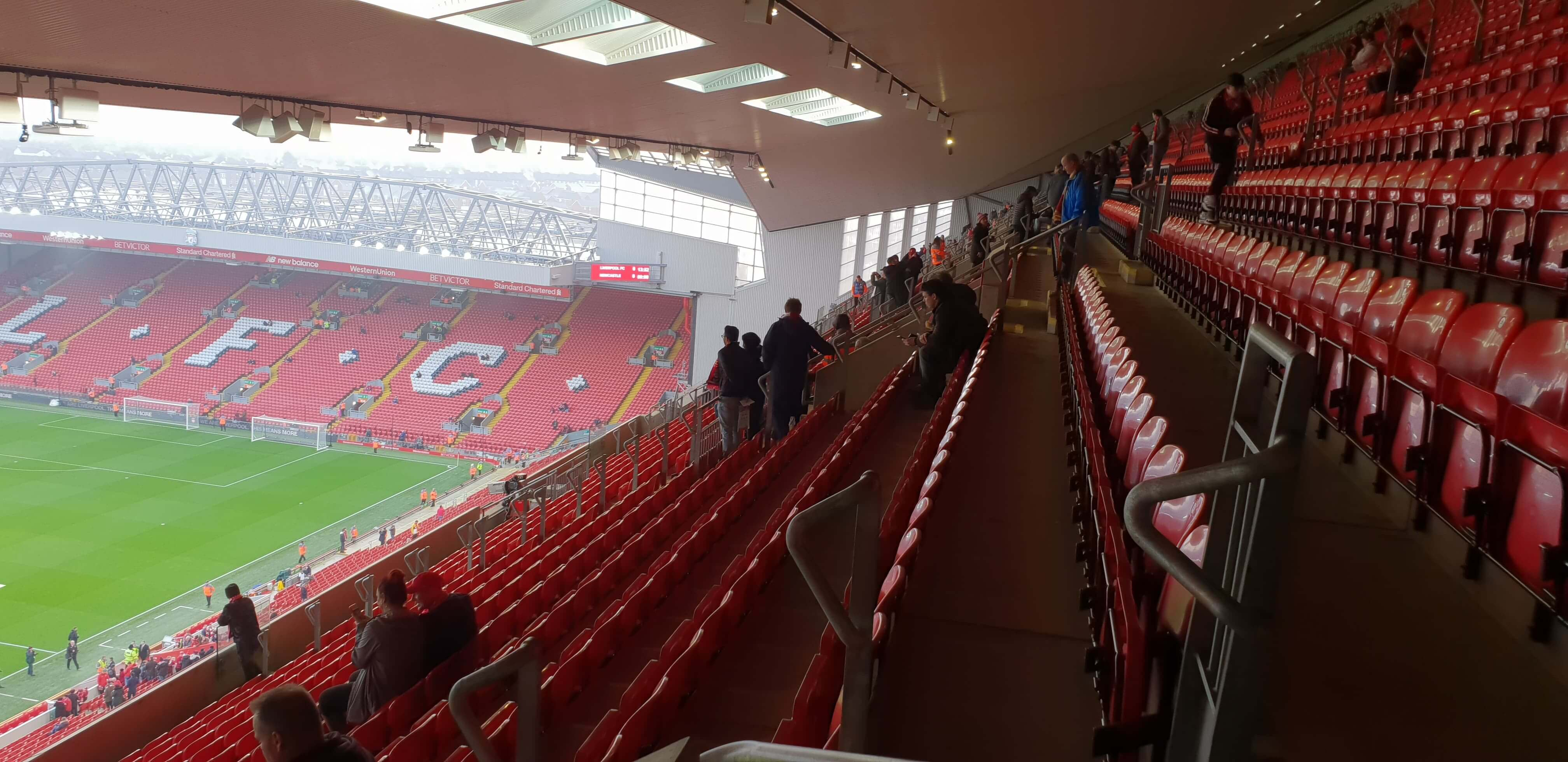 seating Anfield