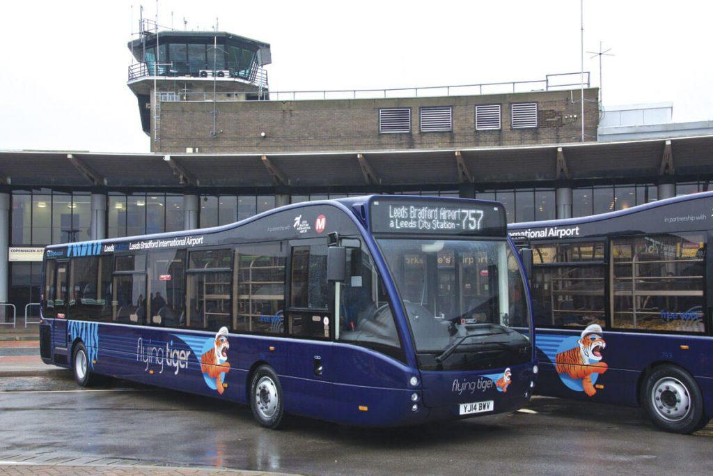 Flying Tiger 757 autobus