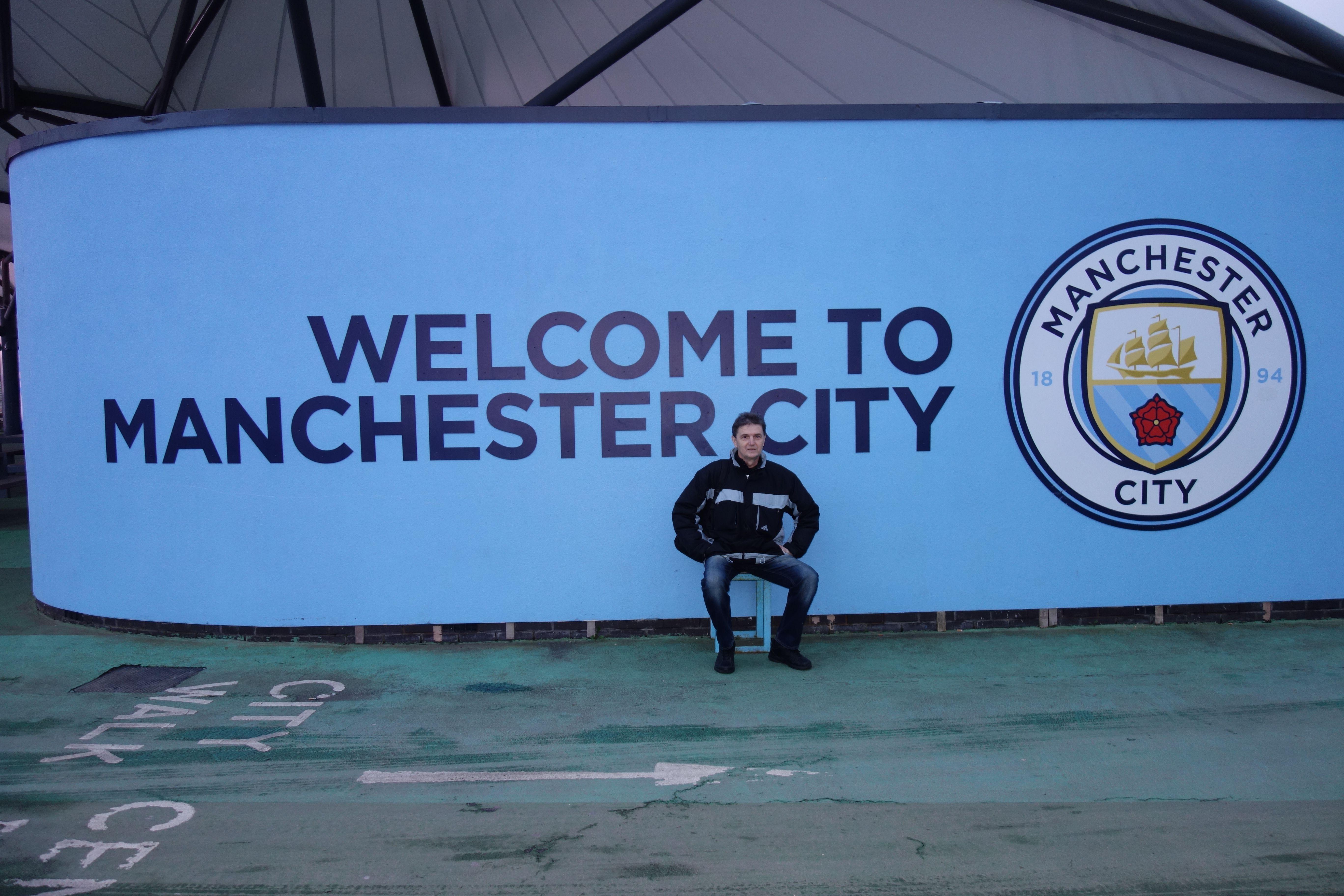 Vitajte v Manchestri city