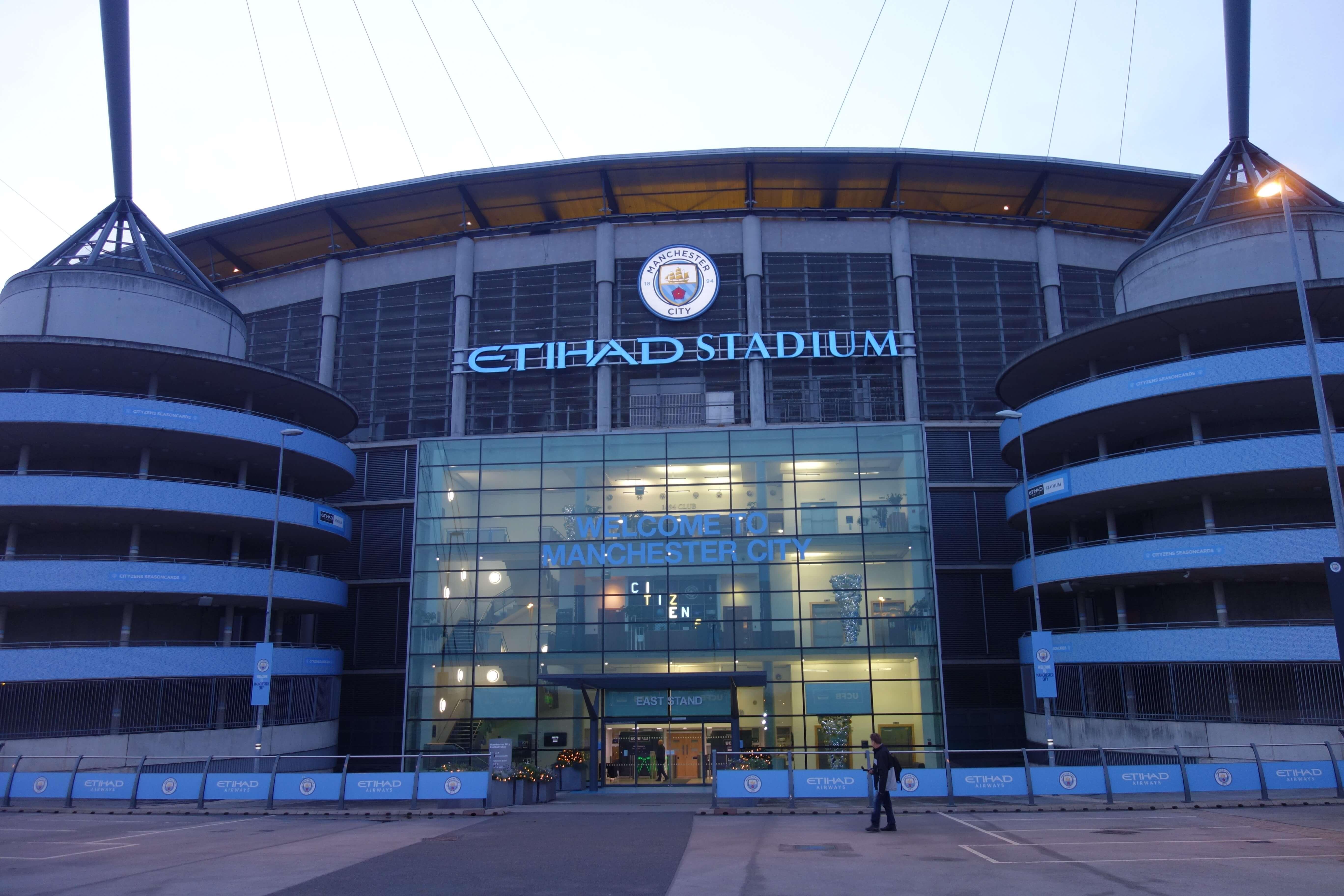 Manchester city štadión