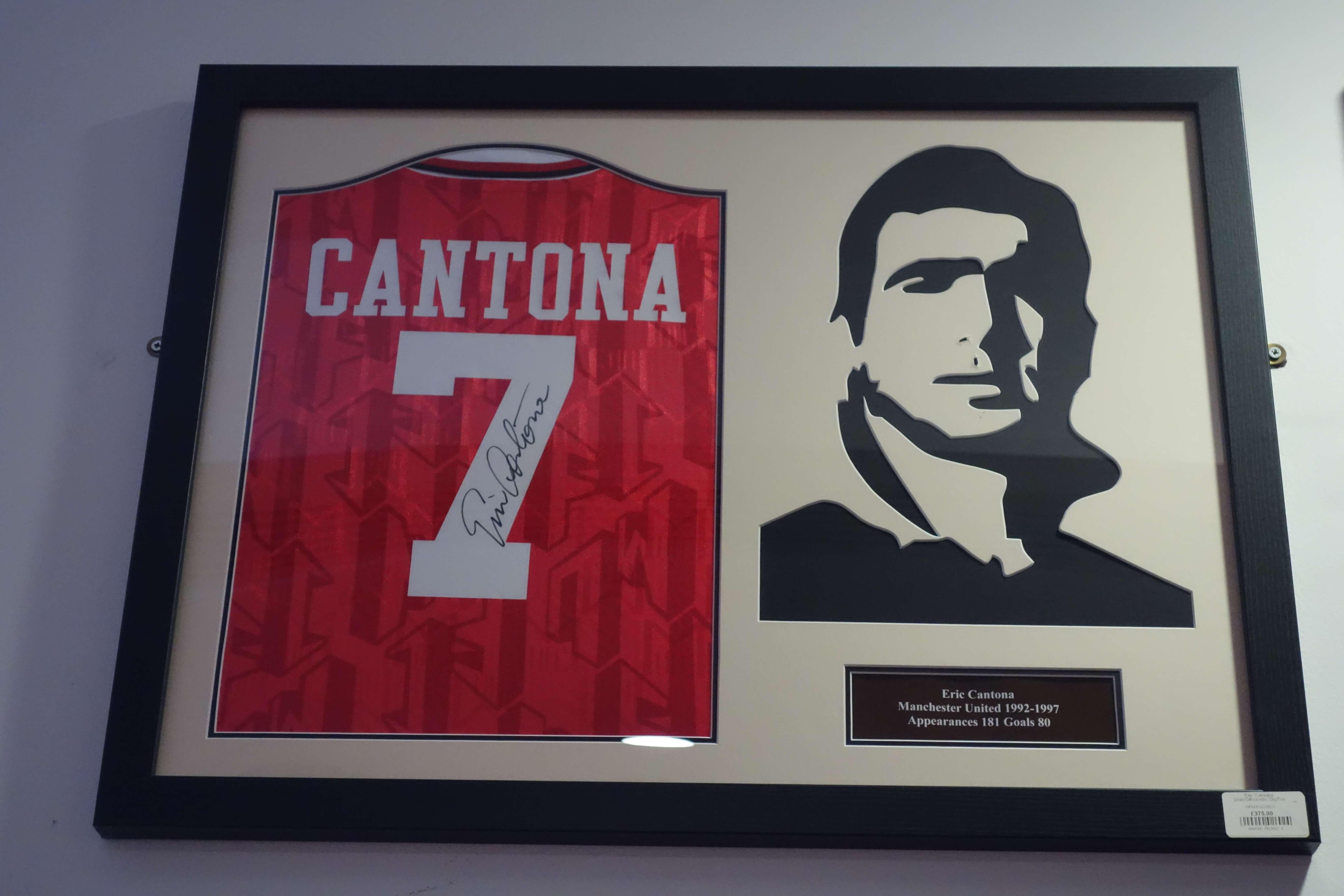 Eric Cantona dres