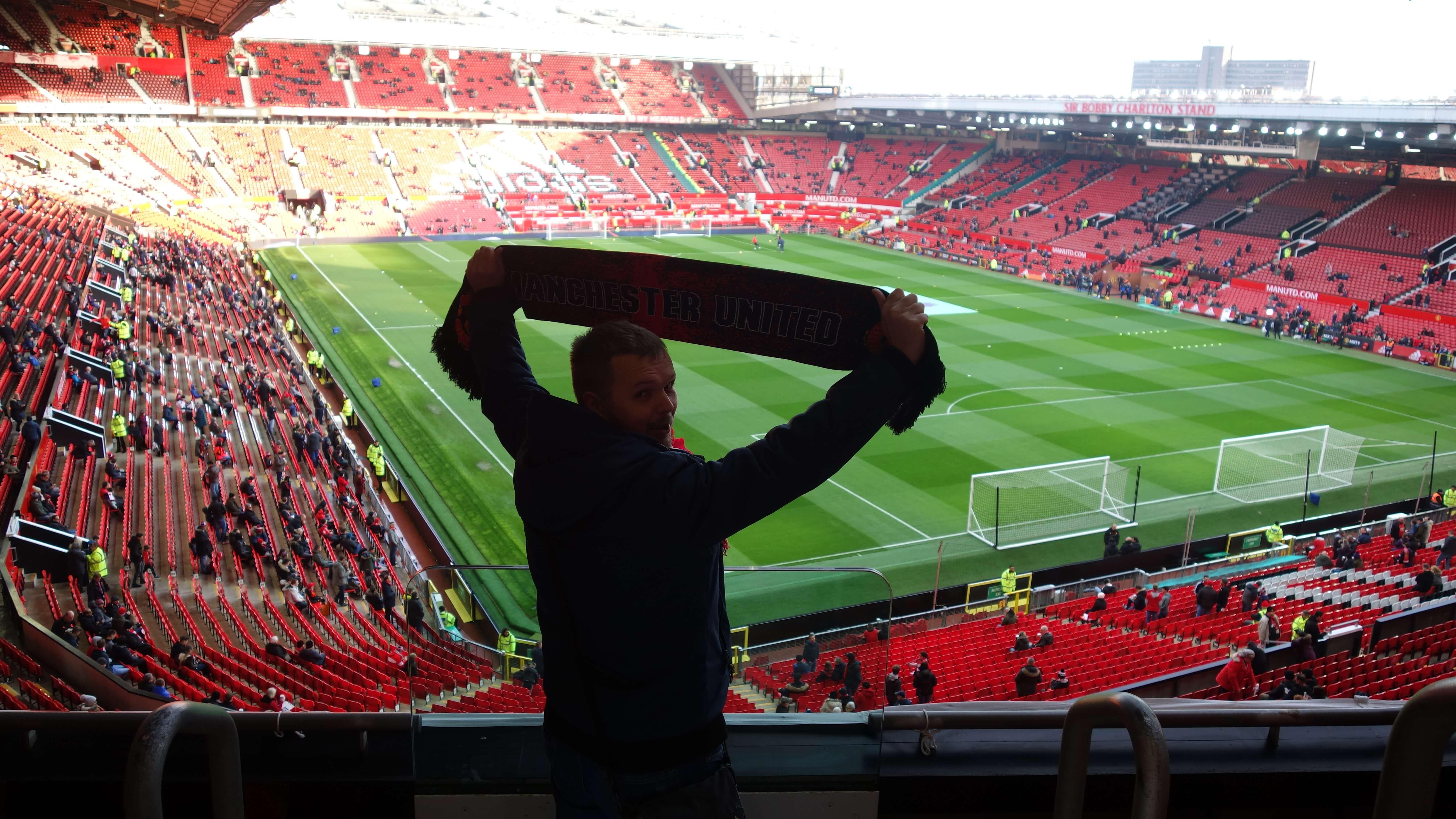 Na štadióne Old Trafford