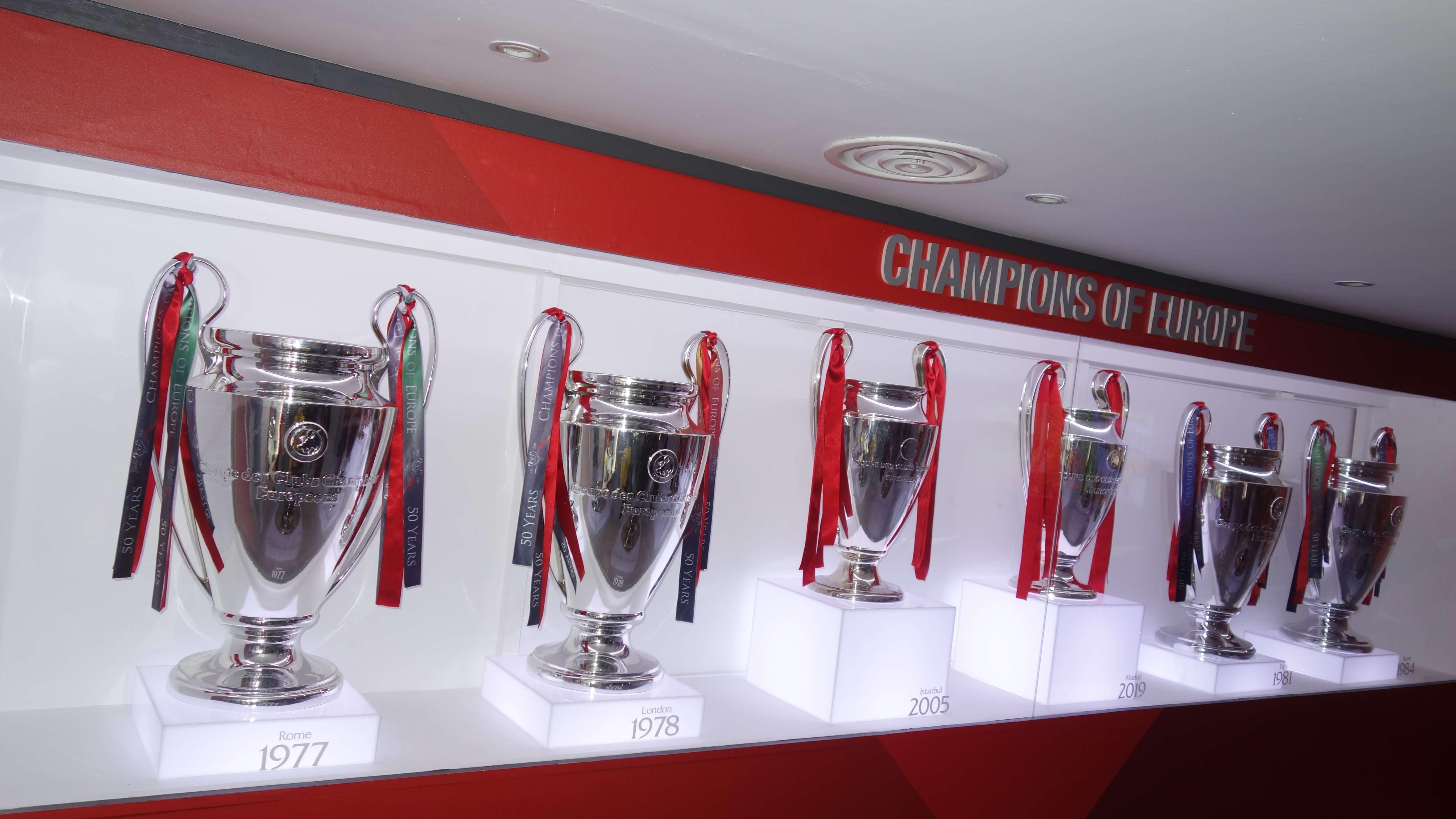 Fc Liverpool - 6 titulov v Lige majstrov