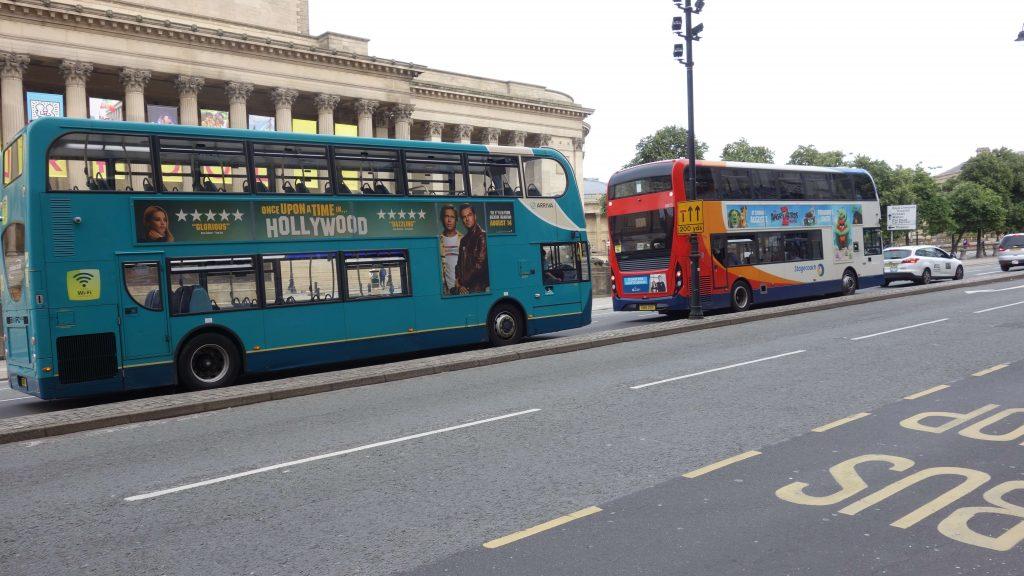 autobus Liverpool