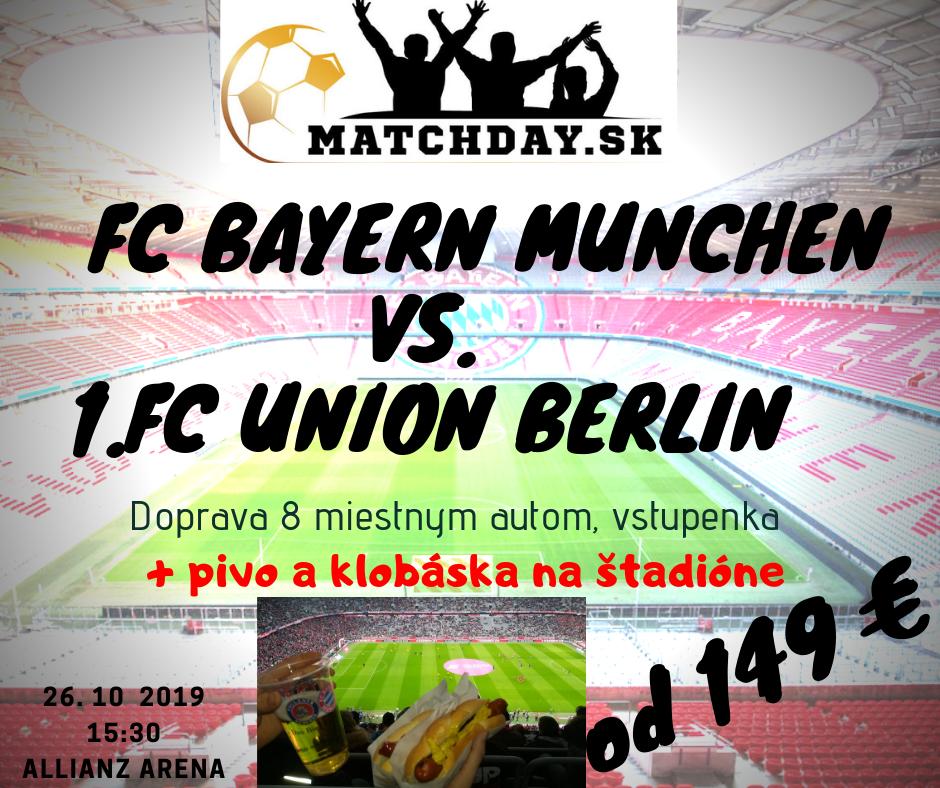FC bayern mníchov -union berlin