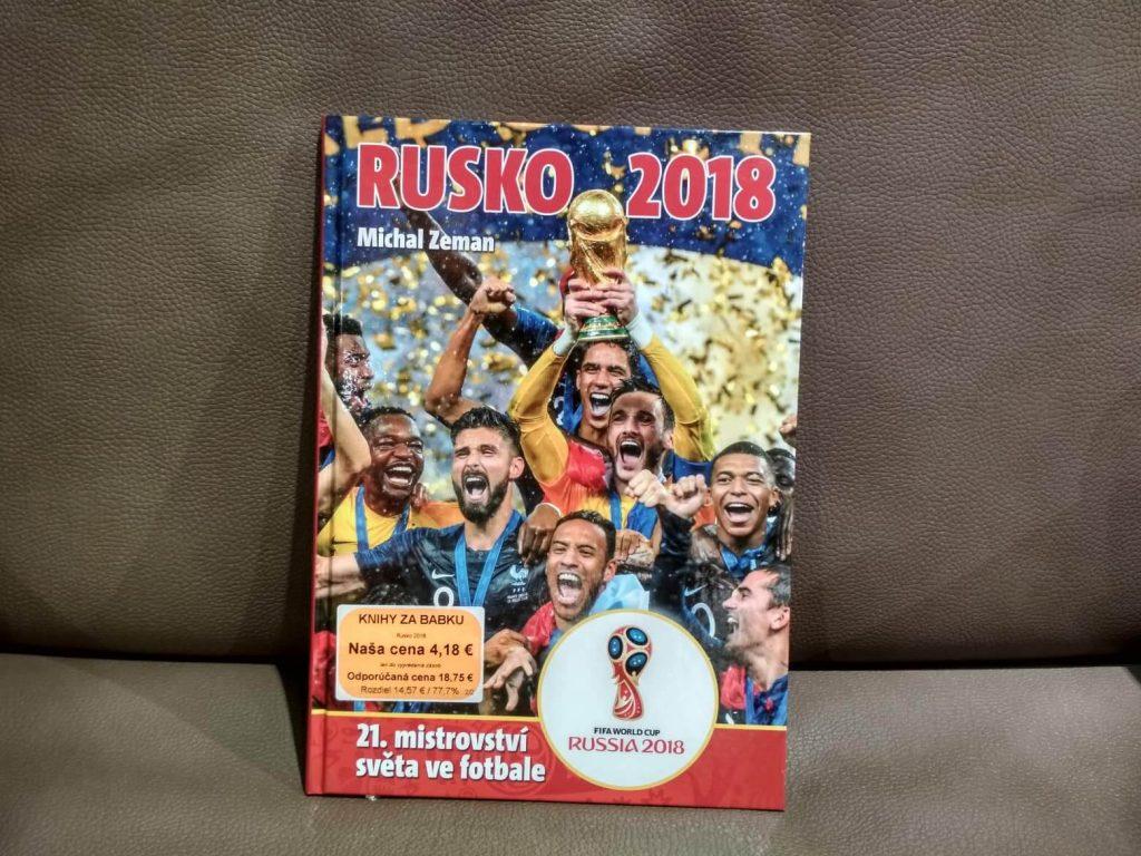 Kniha Rusko 2018 Majstrovstvá sveta vo futbale