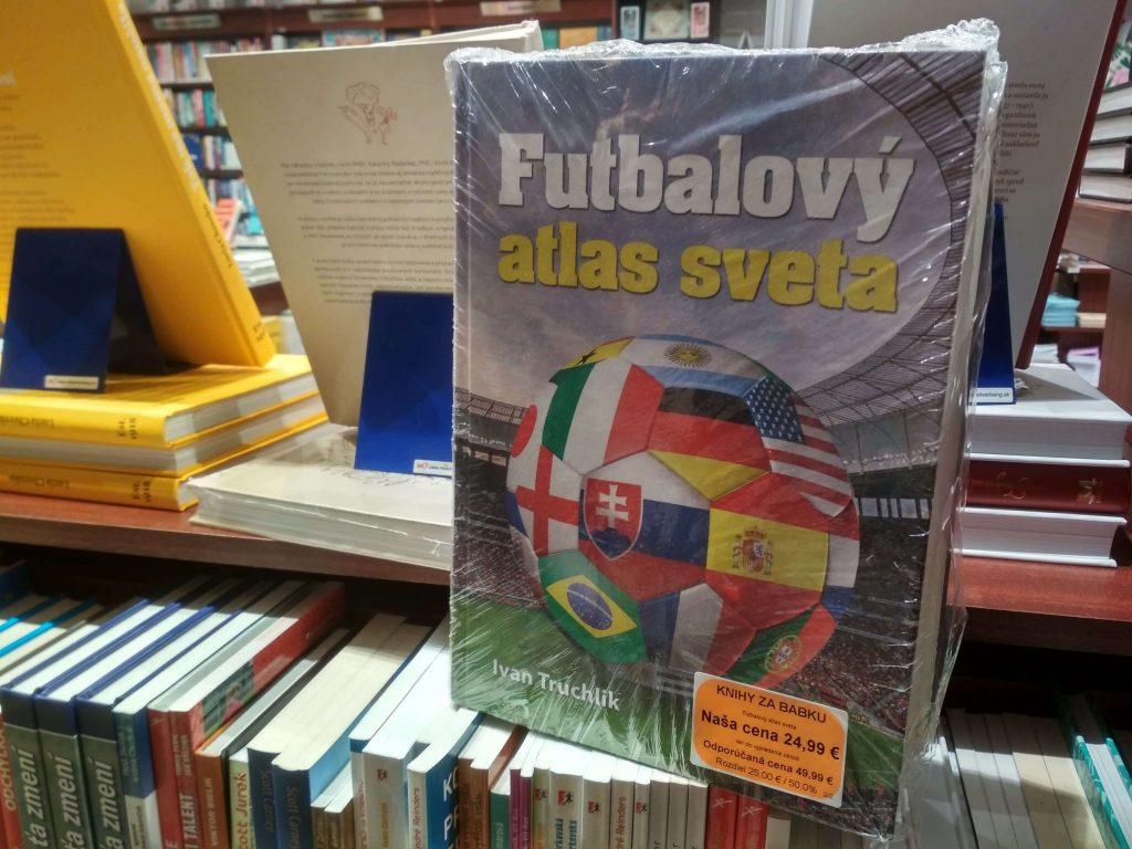 Kniha Futbalový atlas sveta