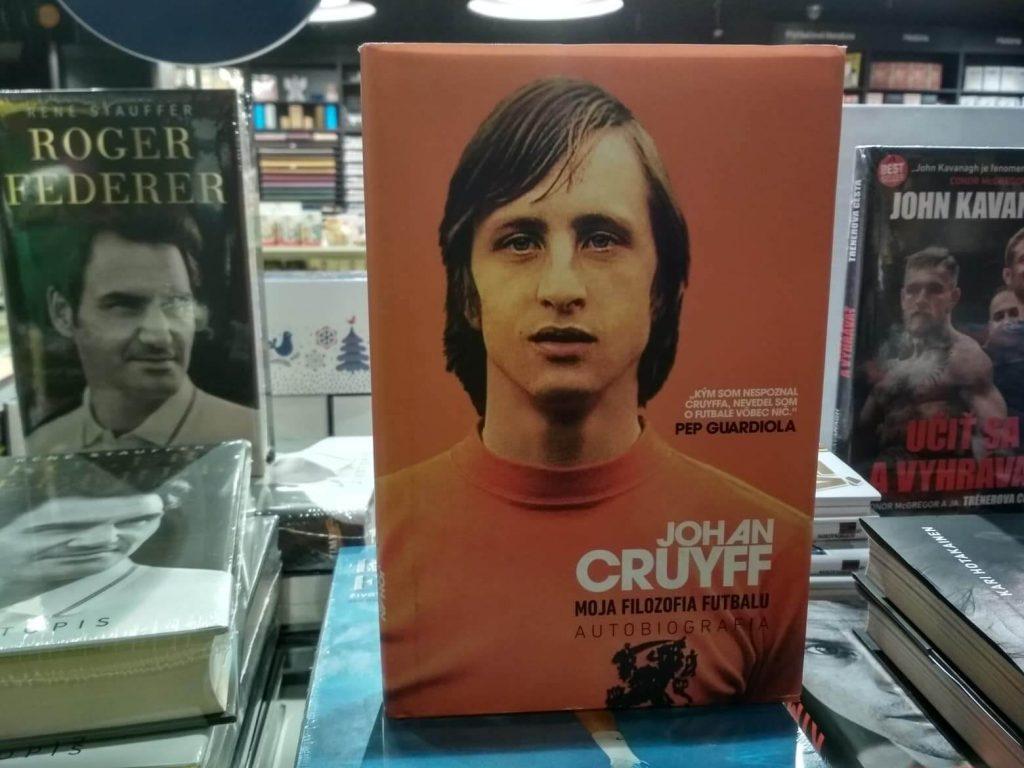 Darček pre futbalistu Kniha Johan Cruyff