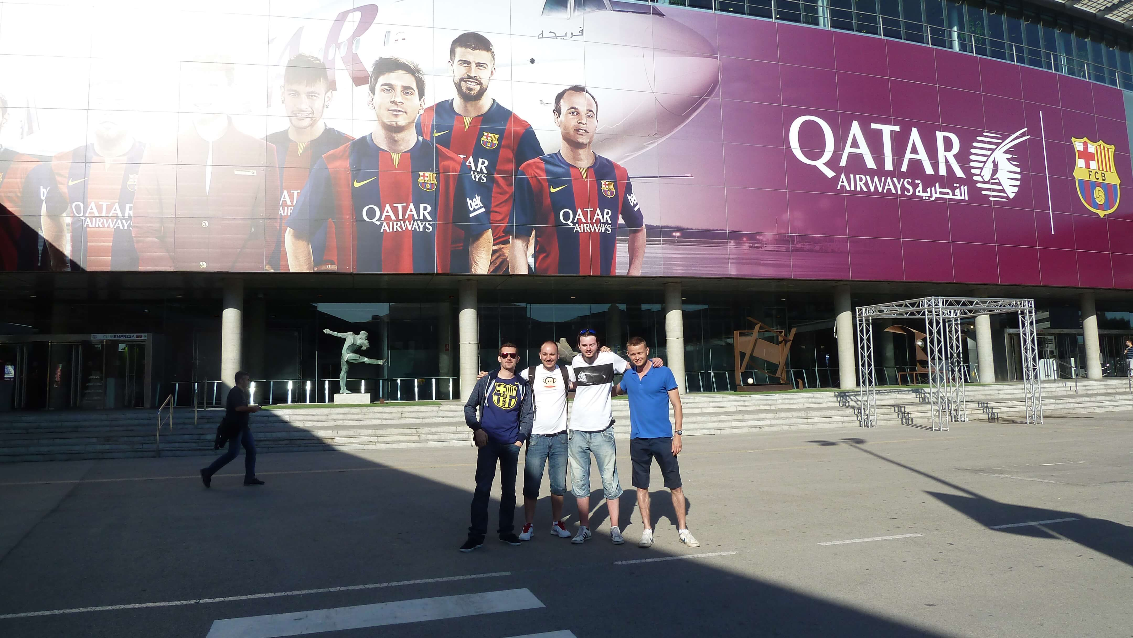 Fc barcelona pred Nou Camp