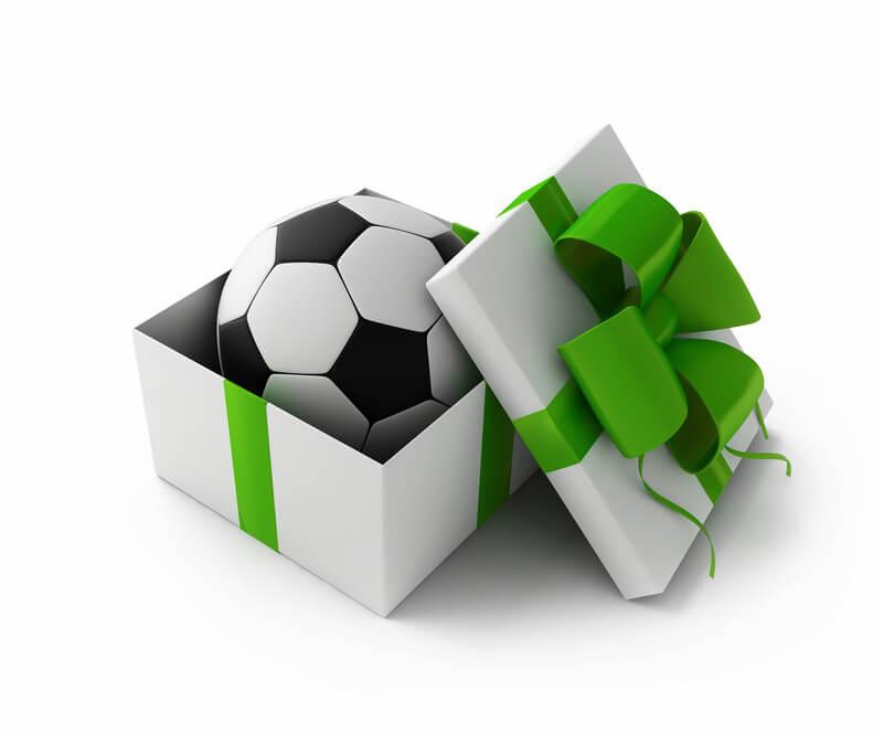 Darček pre futbalistu - náš výber