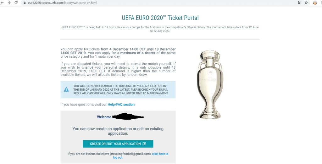 euro 2020 vo futbale registrácia